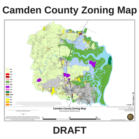Camden County Zoning Map Draft
