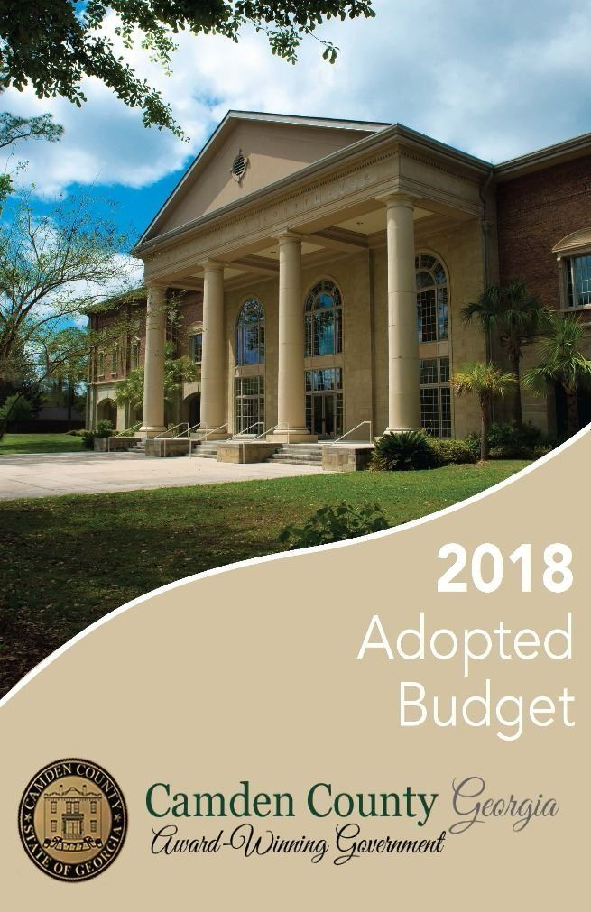 Adopted Budget FY 2018